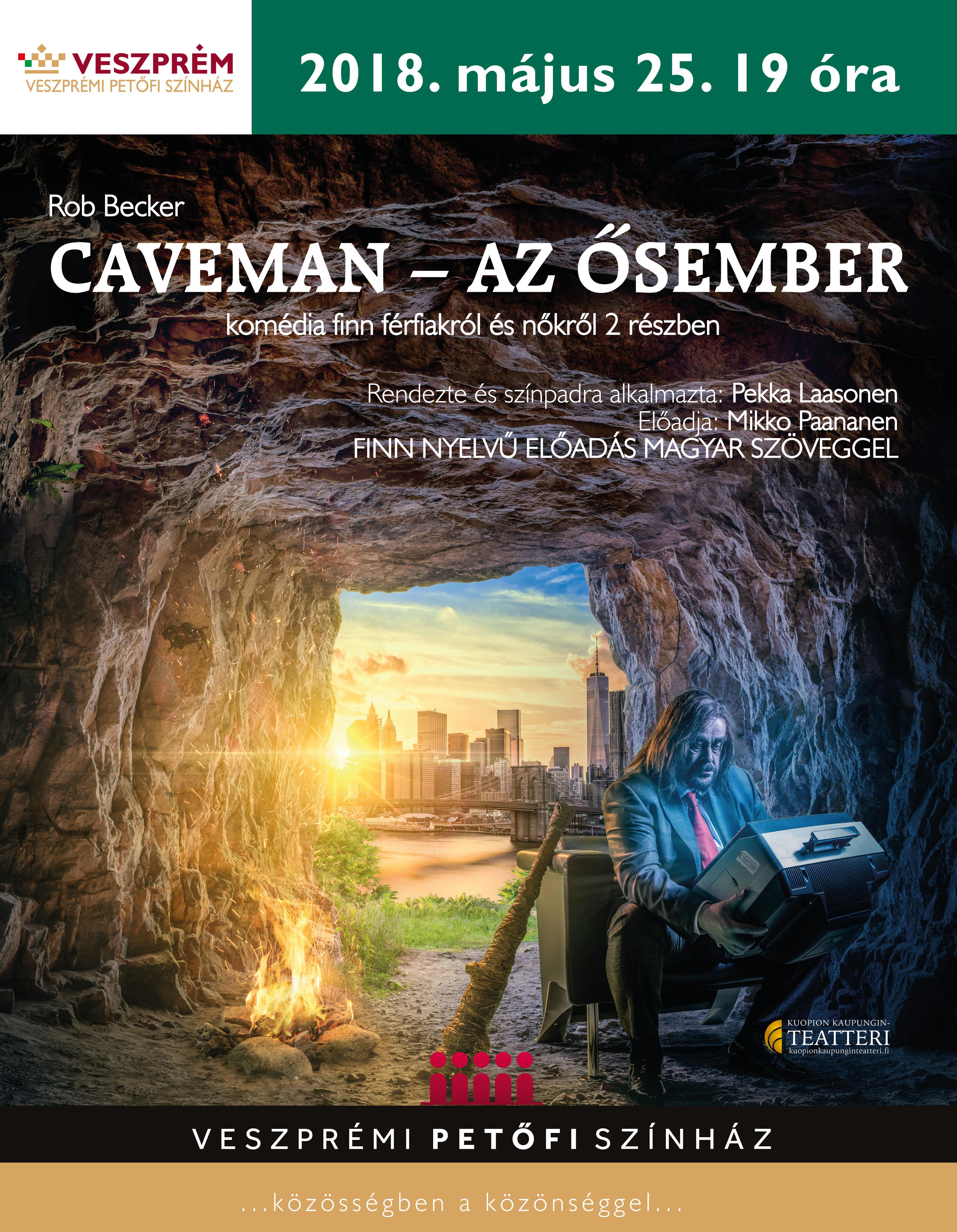 CAVEMAN – AZ ŐSEMBER